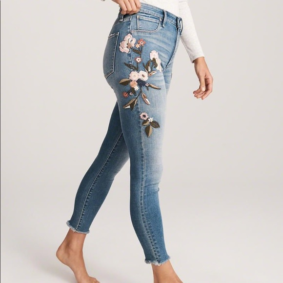 Abercrombie & Fitch Denim - Abercrombie Simone High Rise Jeans
